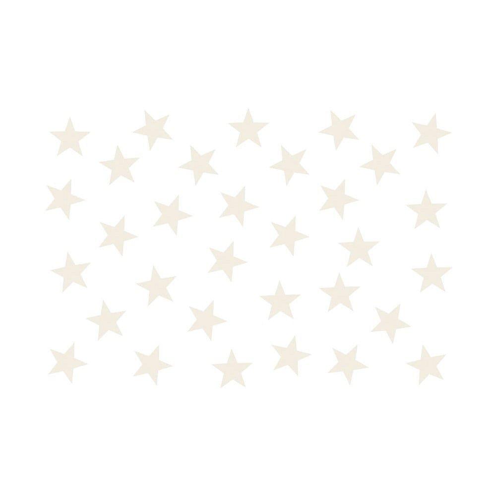 Velkoformátová tapeta Bimago Beige Stars, 400x280cm