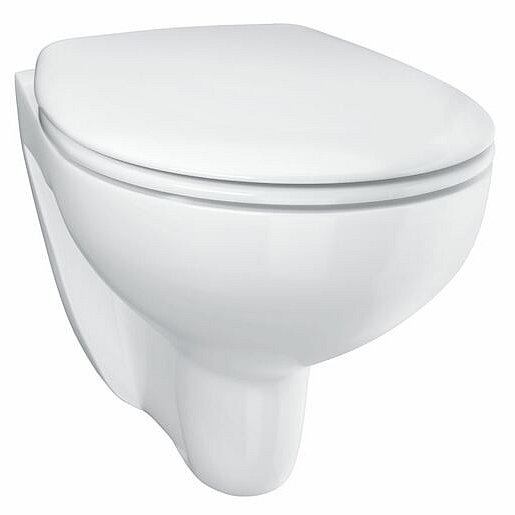 Wc s prkénkem softclose závěsné Grohe Bau Ceramic alpská bílá zadní odpad 39351000