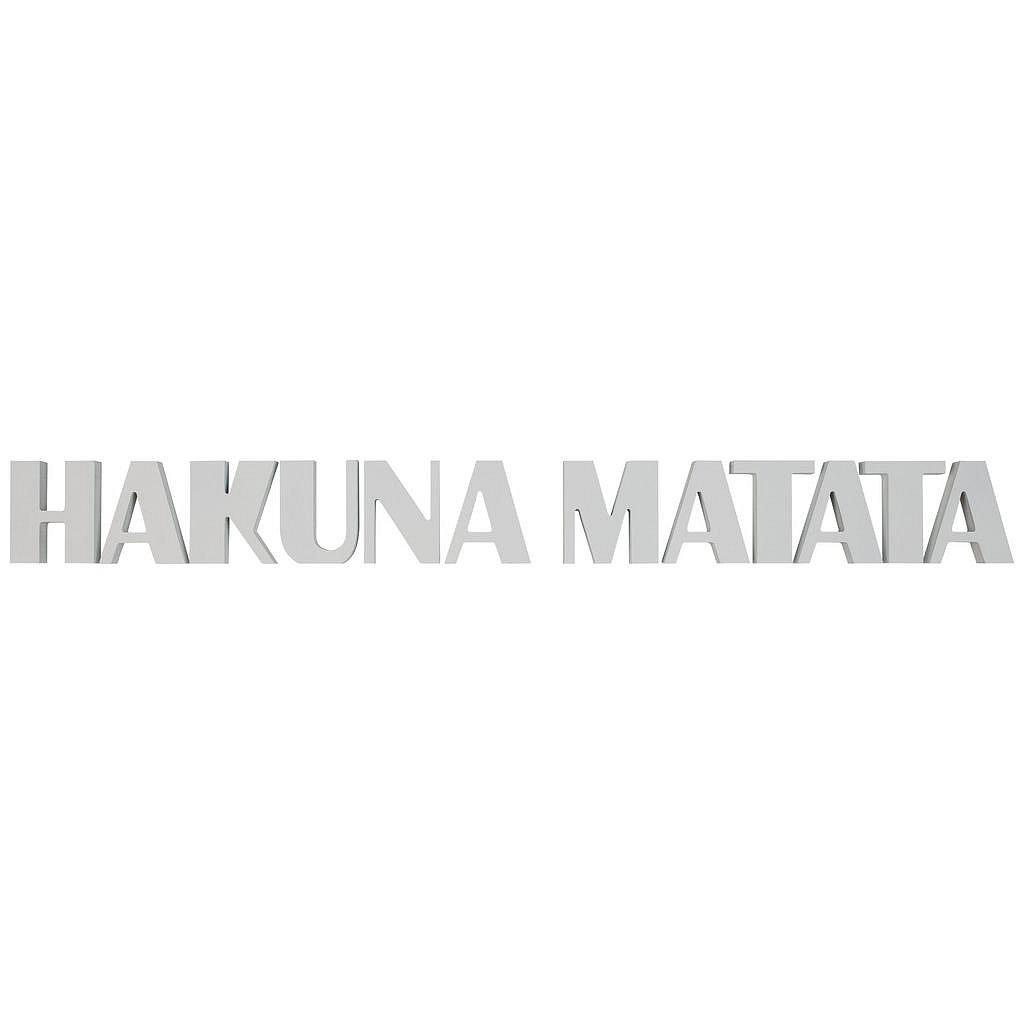 Dekorační Písmena Hakuna Matata