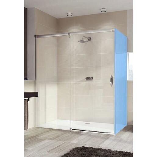 Sprchové dveře 120x200 cm levá Huppe Aura elegance chrom lesklý 401414.092.322.730