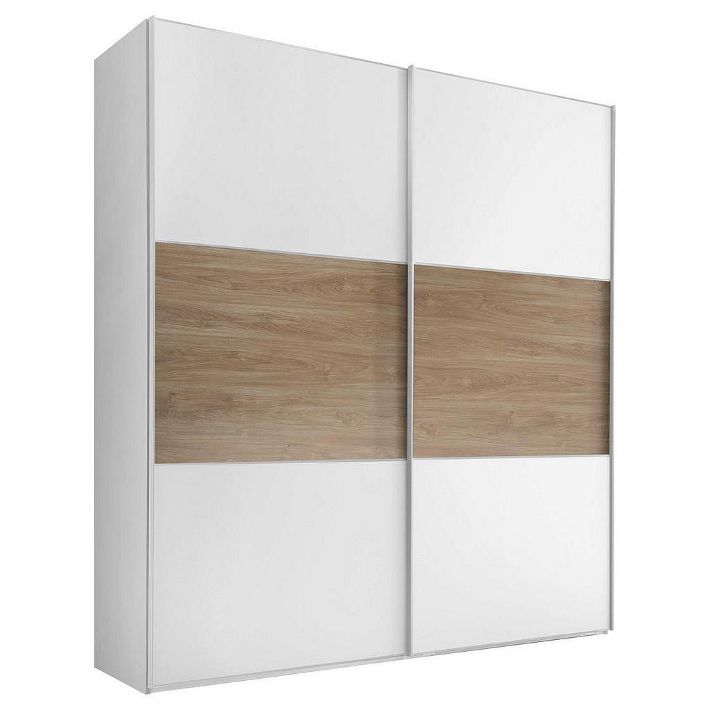 Skříň S Posuvnými Dveřmi Includo 188 Cm Bílá/puccini