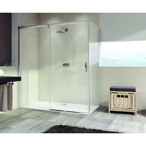 Boční zástěna ke sprchovým dveřím 100x200 cm Huppe Aura elegance chrom lesklý 401608.092.322