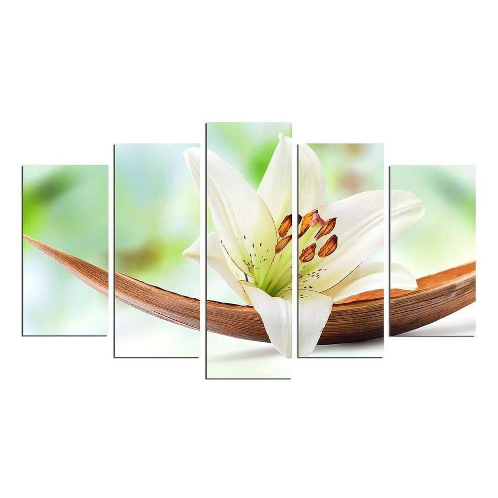 Vícedílný nástěnný obraz Green Lily