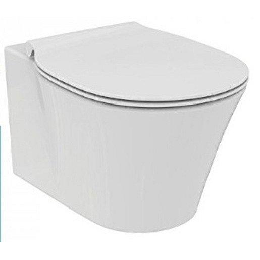 Wc s prkénkem softclose závěsné Ideal Standard Connect air zadní odpad E008701