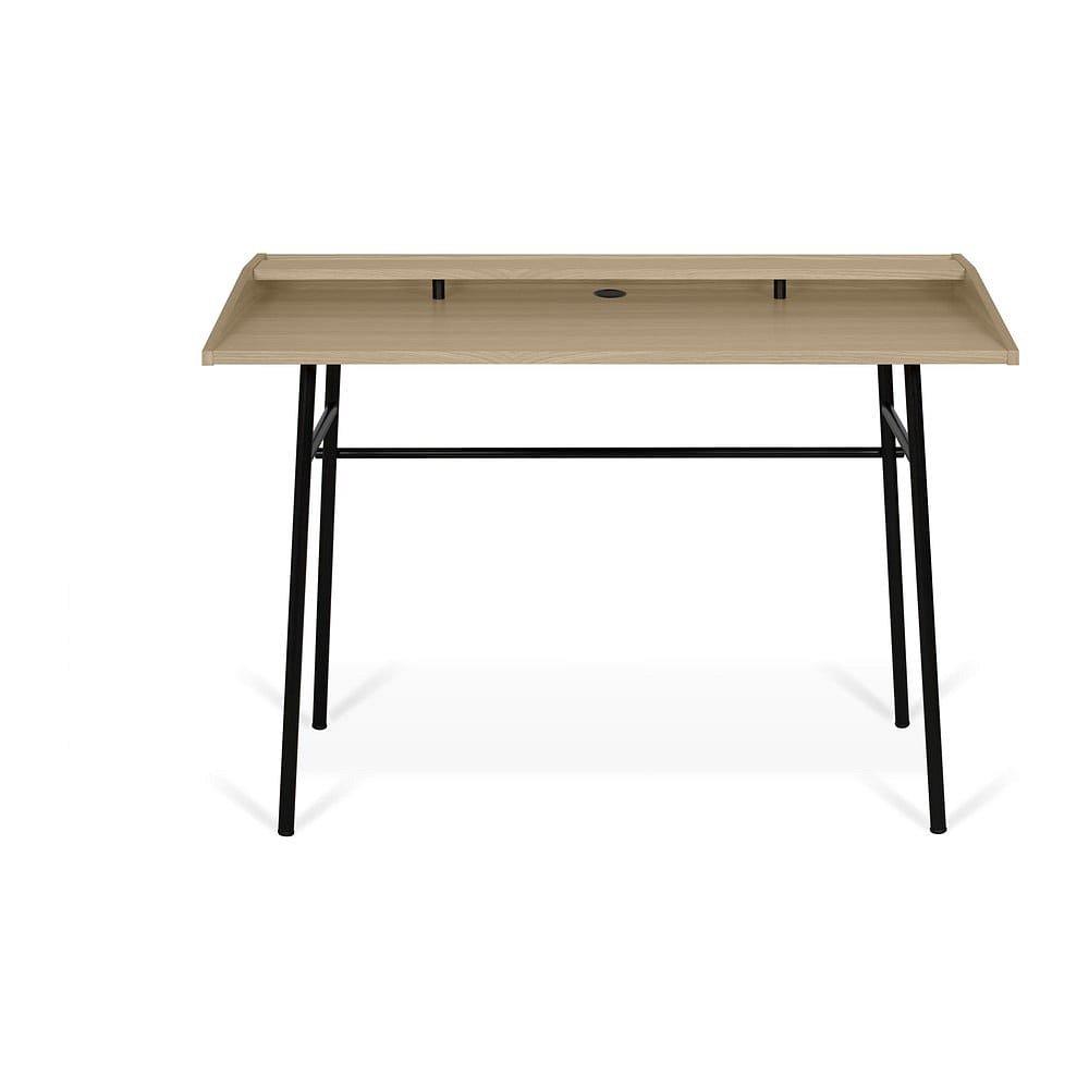 Stůl v dekoru světlého dubu TemaHome Ply, 120 x 81 cm