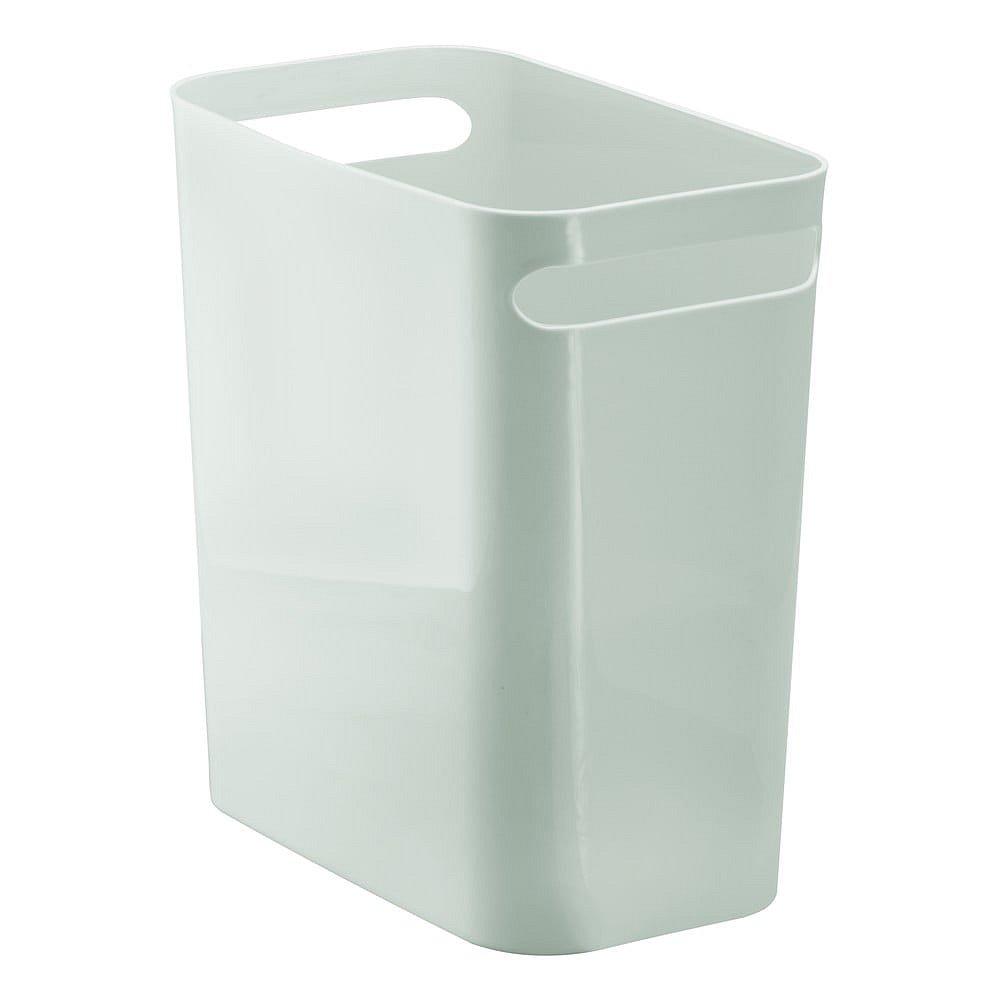 Světle šedý odpadkový koš iDesign Una, 13,9l