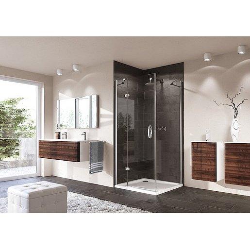 Boční zástěna ke sprchovým dveřím 100x190 cm Huppe Strike chrom lesklý 430605.092.322