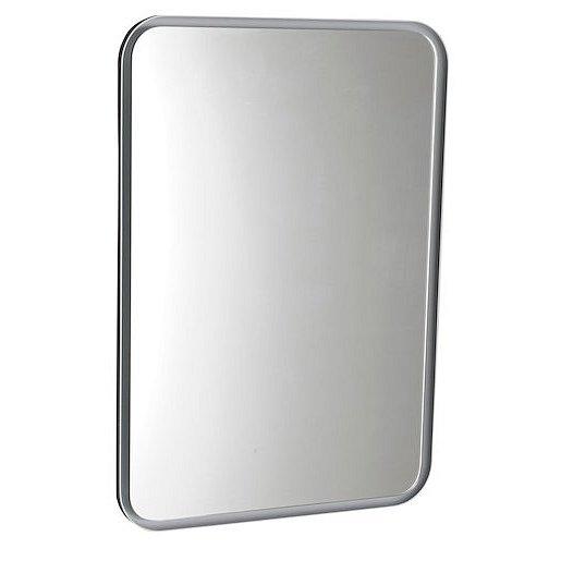 Zrcadlo s LED osvětlením Sapho Float 50x70 cm bílá 22571