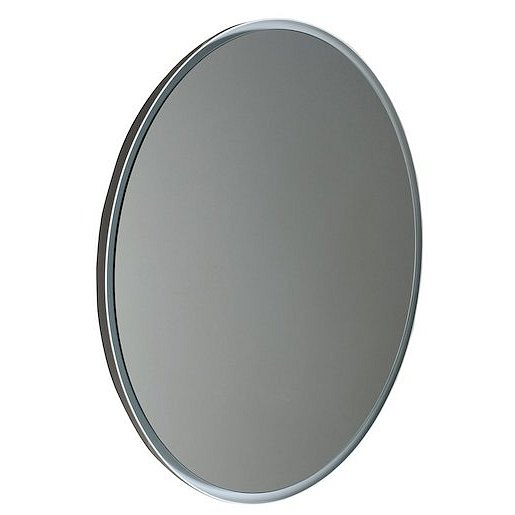 Zrcadlo s LED osvětlením Sapho Float 74x74 cm bílá lesklá 22574
