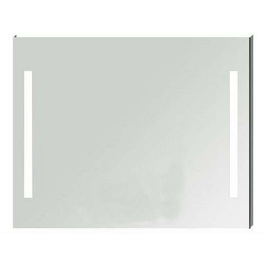 Zrcadlo s LED osvětlením Jika Clear 100x81 cm H4557651731441