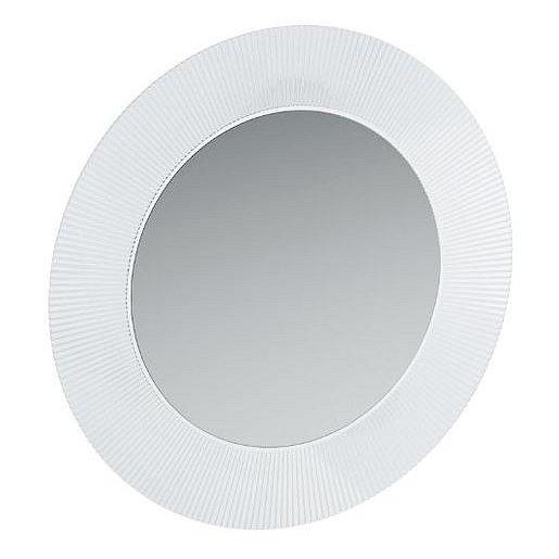 Zrcadlo s LED osvětlením Laufen KARTELL BY LAUFEN 78x78 cm transparent H3863330840001