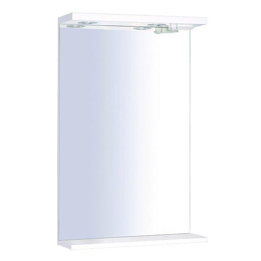 Zrcadlo s osvětlením Keramia Pro 50x80 cm bílá PROZRCK50IP