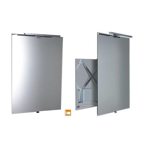 Zrcadlo s LED osvětlením Sapho Tira 60x80 cm TR060