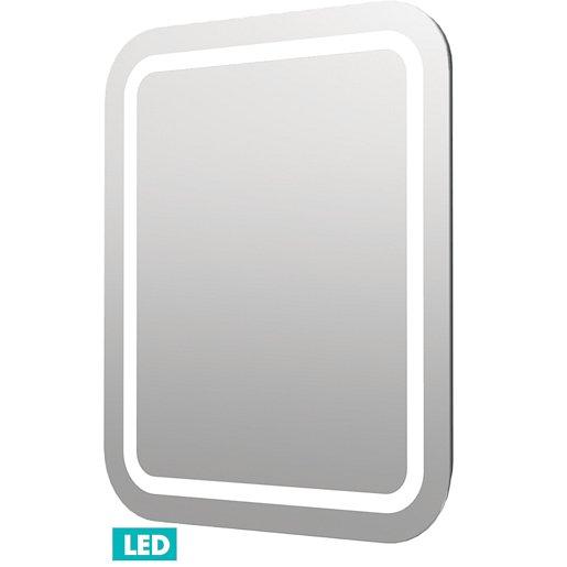 Zrcadlo s LED osvětlením Naturel Iluxit 60x70 cm ZIL6070KLEDS