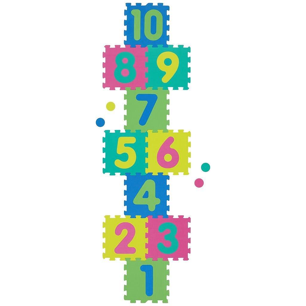 Pěnové Puzzle S Čísly Playmat