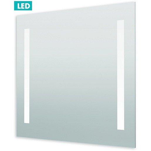 Zrcadlo s LED osvětlením Naturel Iluxit 80x70 cm ZIL8070LEDS