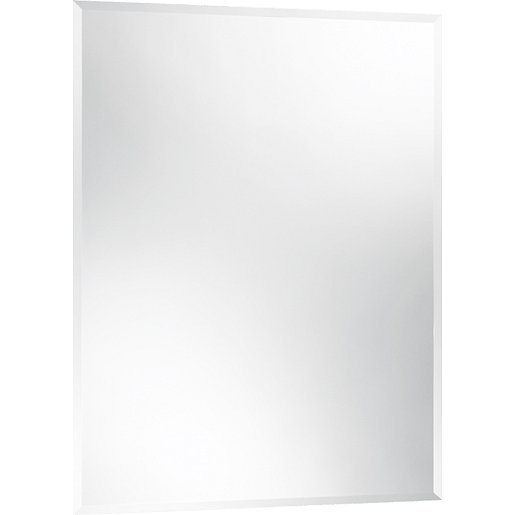 Zrcadlo s fazetou Naturel 50x70 cm ZOB7050F