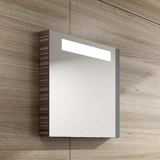 Zrcadlo s osvětlením Ravak Classic 60x55 cm espresso X000000430