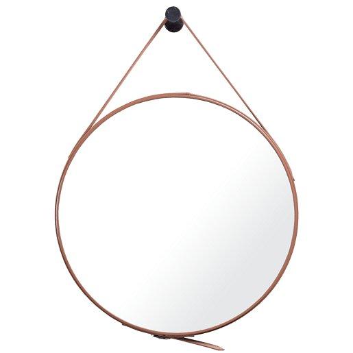 Zrcadlo Naturel 50x50 cm hnědá ZREM50H