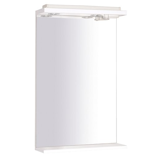 Zrcadlo s osvětlením Multi 50x80 cm bílá ZRCK50