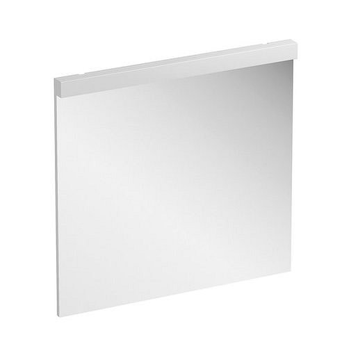 Zrcadlo s LED osvětlením Ravak Natural 80x77 cm bílá X000001057