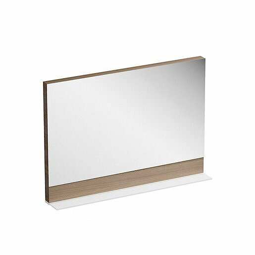 Zrcadlo Ravak Formy 120x71 cm ořech X000000984