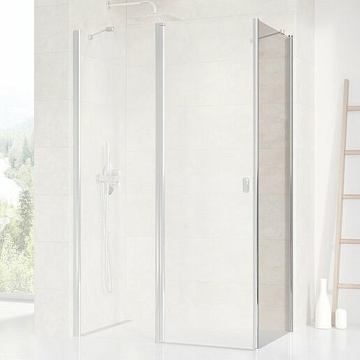 Boční zástěna ke sprchovým dveřím 100x195 cm Ravak Chrome chrom lesklý 9QVA0C00Z1