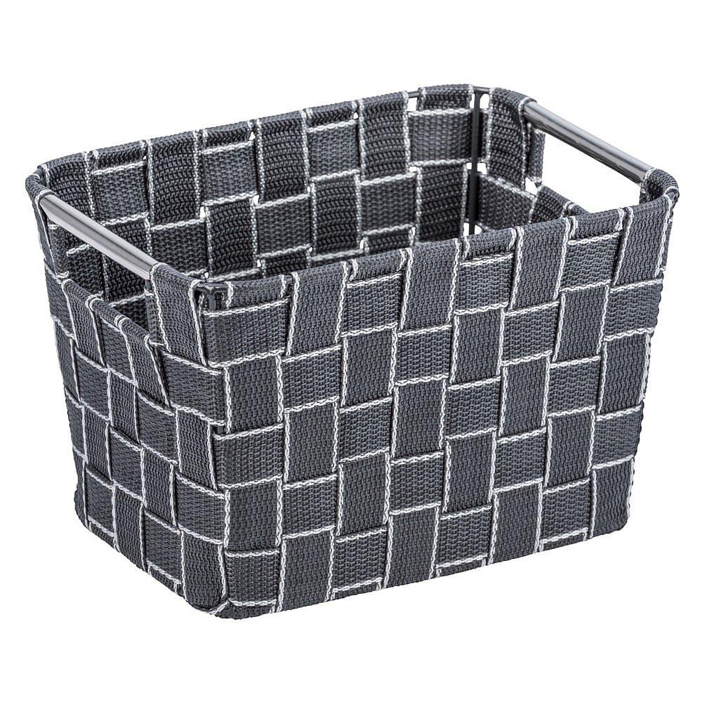 Velký šedý košík Wenko Fedra