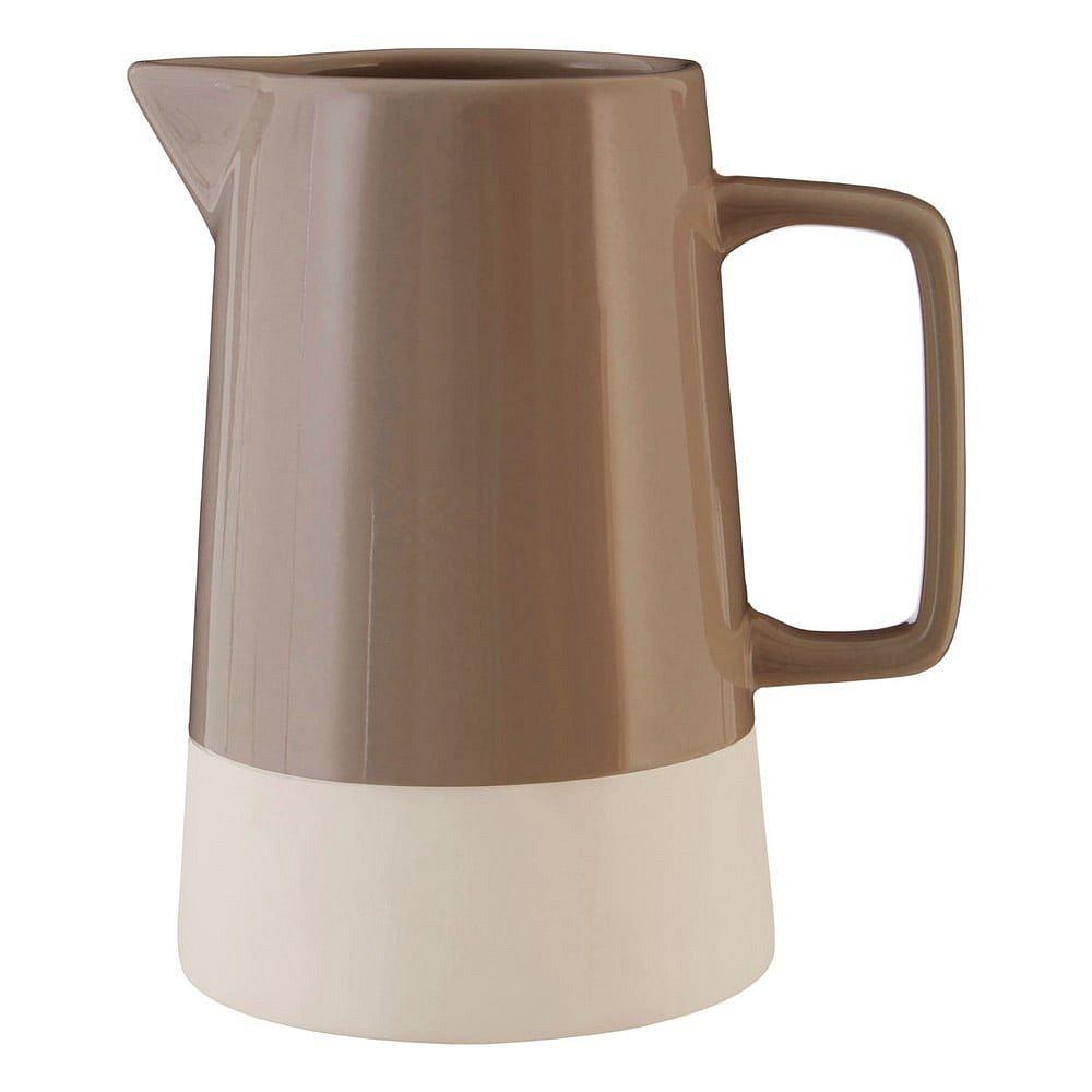 Hnědý kameninový džbán Premier Housewares, 1,28 l