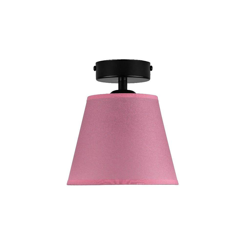 Růžové stropní svítidlo Sotto Luce IRO Parchment, ⌀16cm