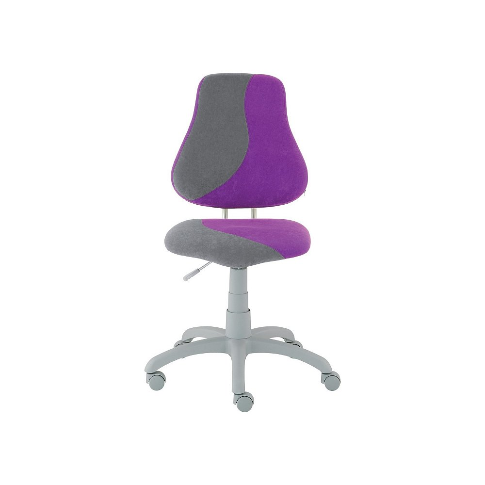 Dětská židle FUXO S, fialová/šedá
