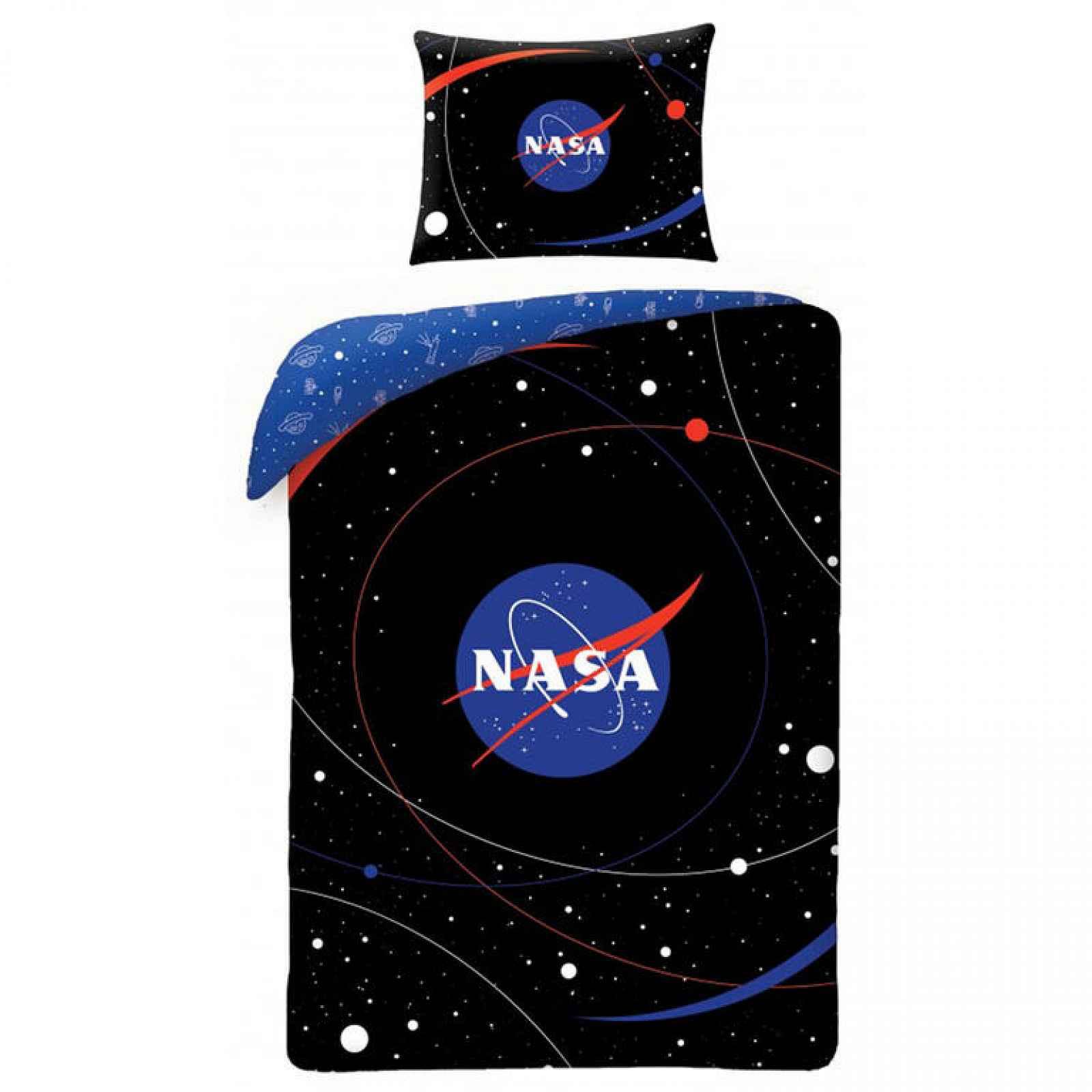 Bavlněné  povlečení NASA VESMÍR 140 x 200 cm, 70 x 90 cm