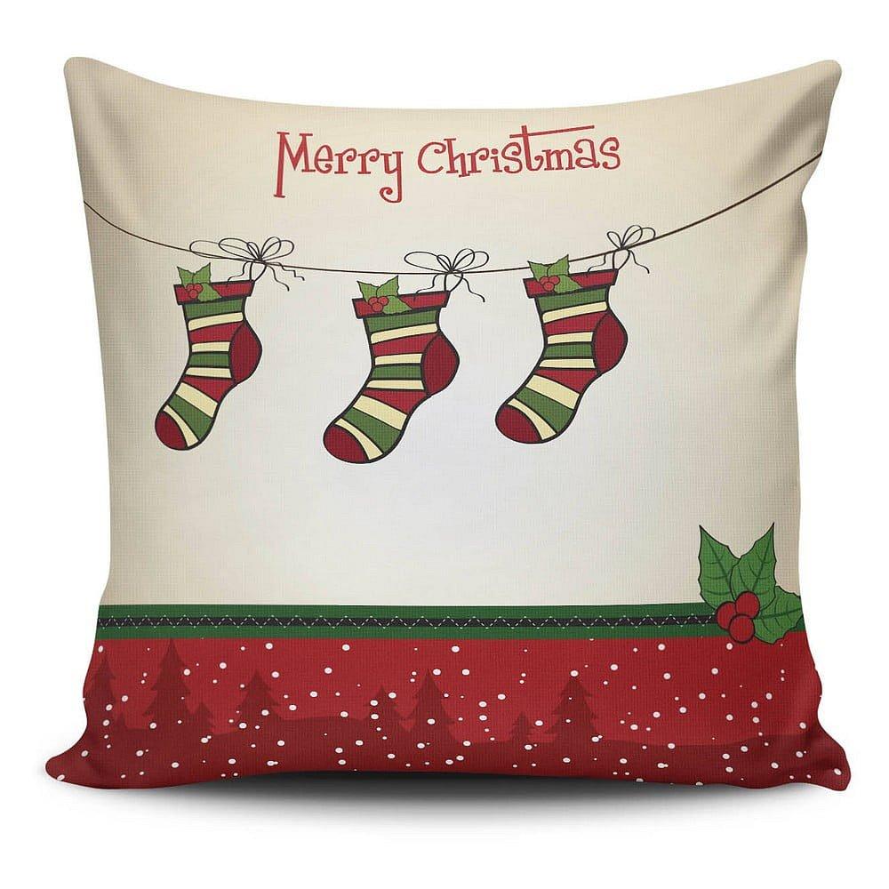 Polštář Christmas Pillow no. 27, 45x45 cm
