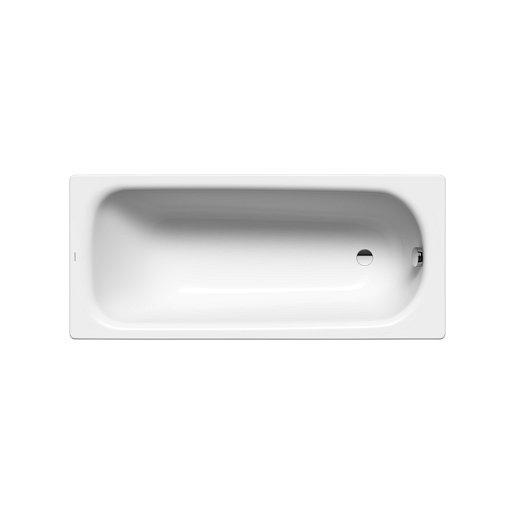 Obdélníková vana Kaldewei Saniform Plus 140x70 cm smaltovaná ocel Perl-effekt,Antislip alpská bílá 111530003001