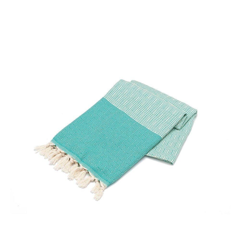 Mentolově zelený ručník Elmas, 180 x 100 cm