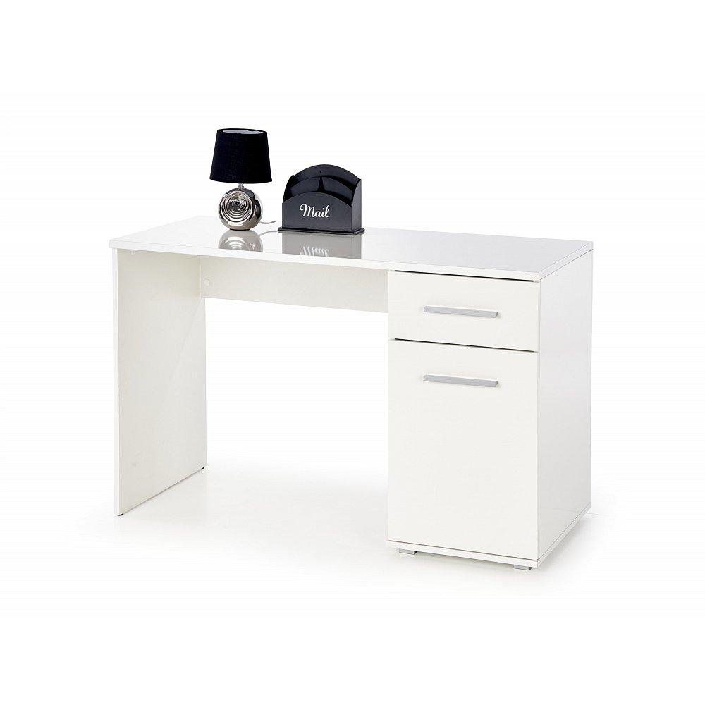 Psací stůl LIMA B-1, bílá