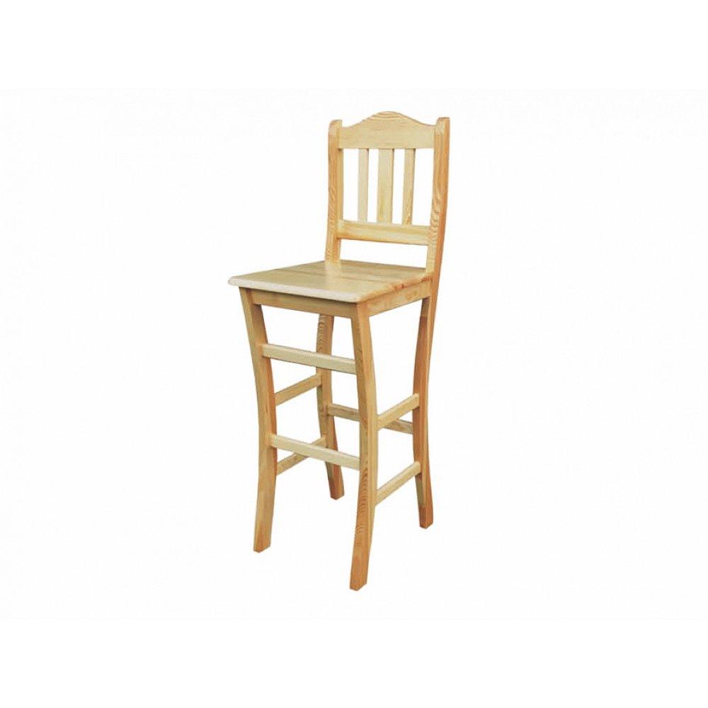 Jídelní židle KT111, masiv borovice, moření: …