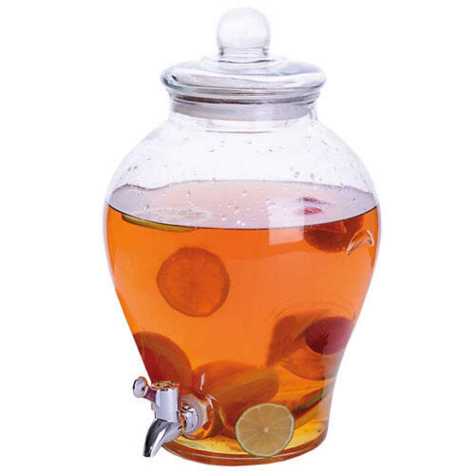 Orion Skleněná láhev s kohoutkem Apple 6,5 l