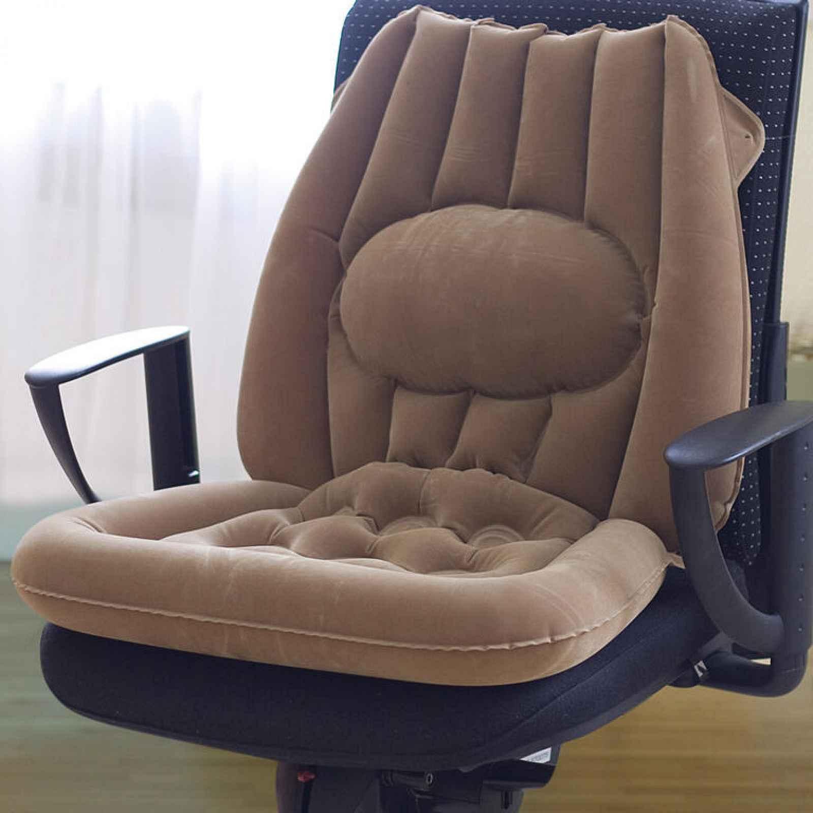 Nafukovací sedák s opěrkou