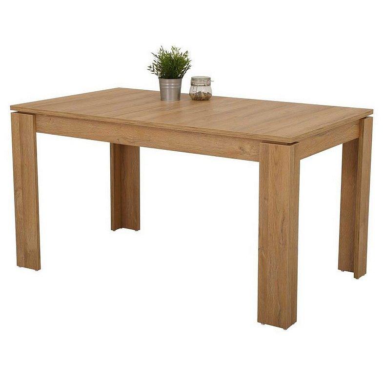 Jídelní stůl Amanda 140x80 cm, starý dub