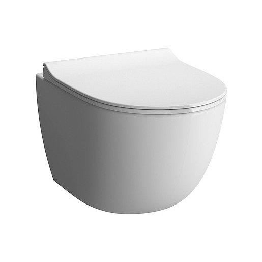 WC závěsné Vitra Sento mat zadní odpad 7748-001-0075