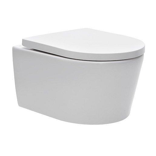 WC závěsné SAT Brevis zadní odpad SATBRE010RREXP