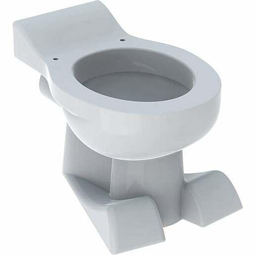 Geberit stojící WC pro děti,design lvích tlap, Bílé