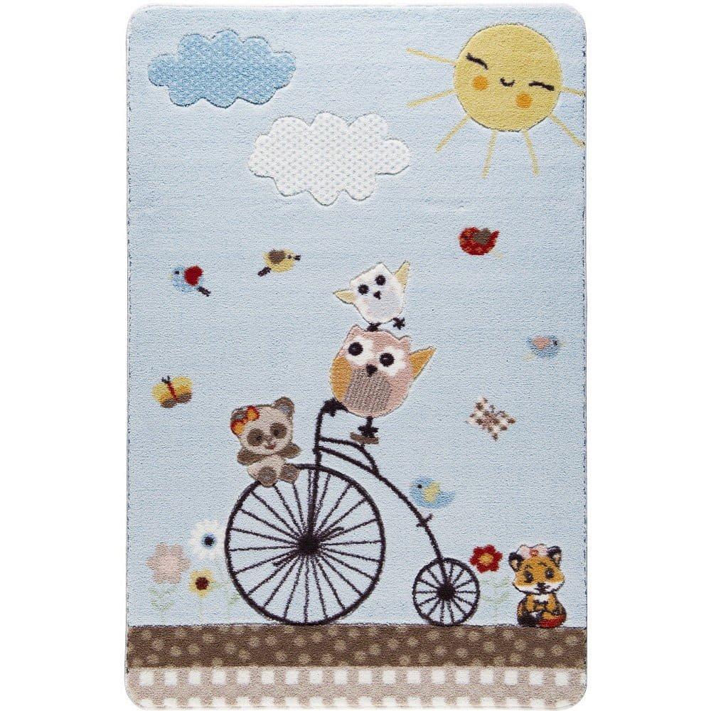 Dětský koberec Kids Bike, 100 x 150 cm