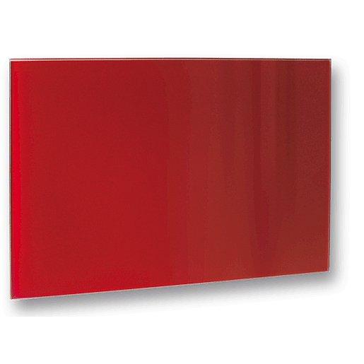 Topný panel Fenix 50x70 cm sklo červená 5437709