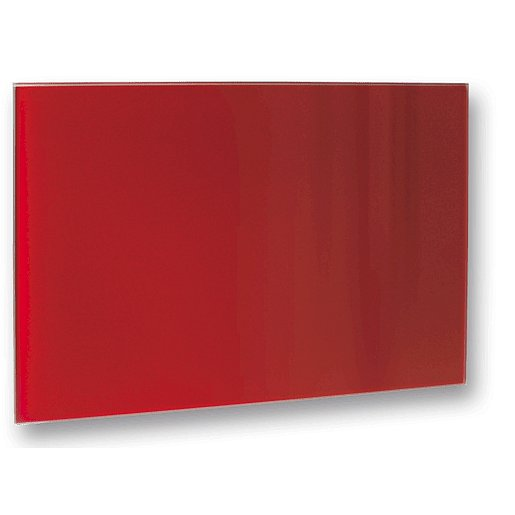 Topný panel Fenix 60x110 cm sklo červená 5437729
