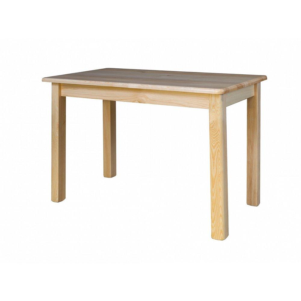 Rozkládací jídelní stůl ST104, 150x75x75, moření: …