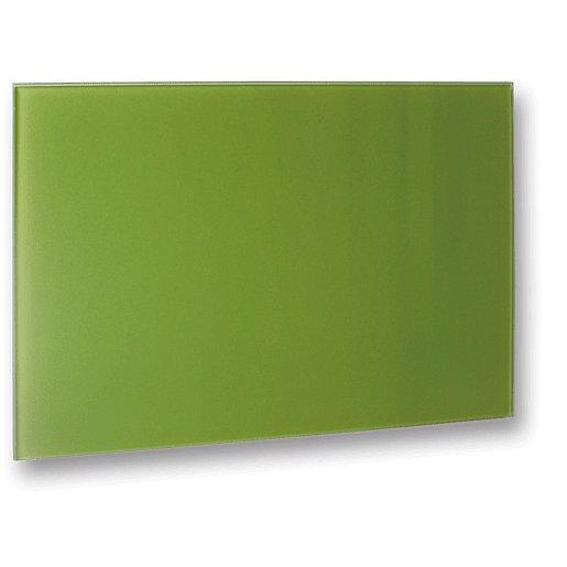 Topný panel Fenix 110x60 cm sklo zelená 5437728
