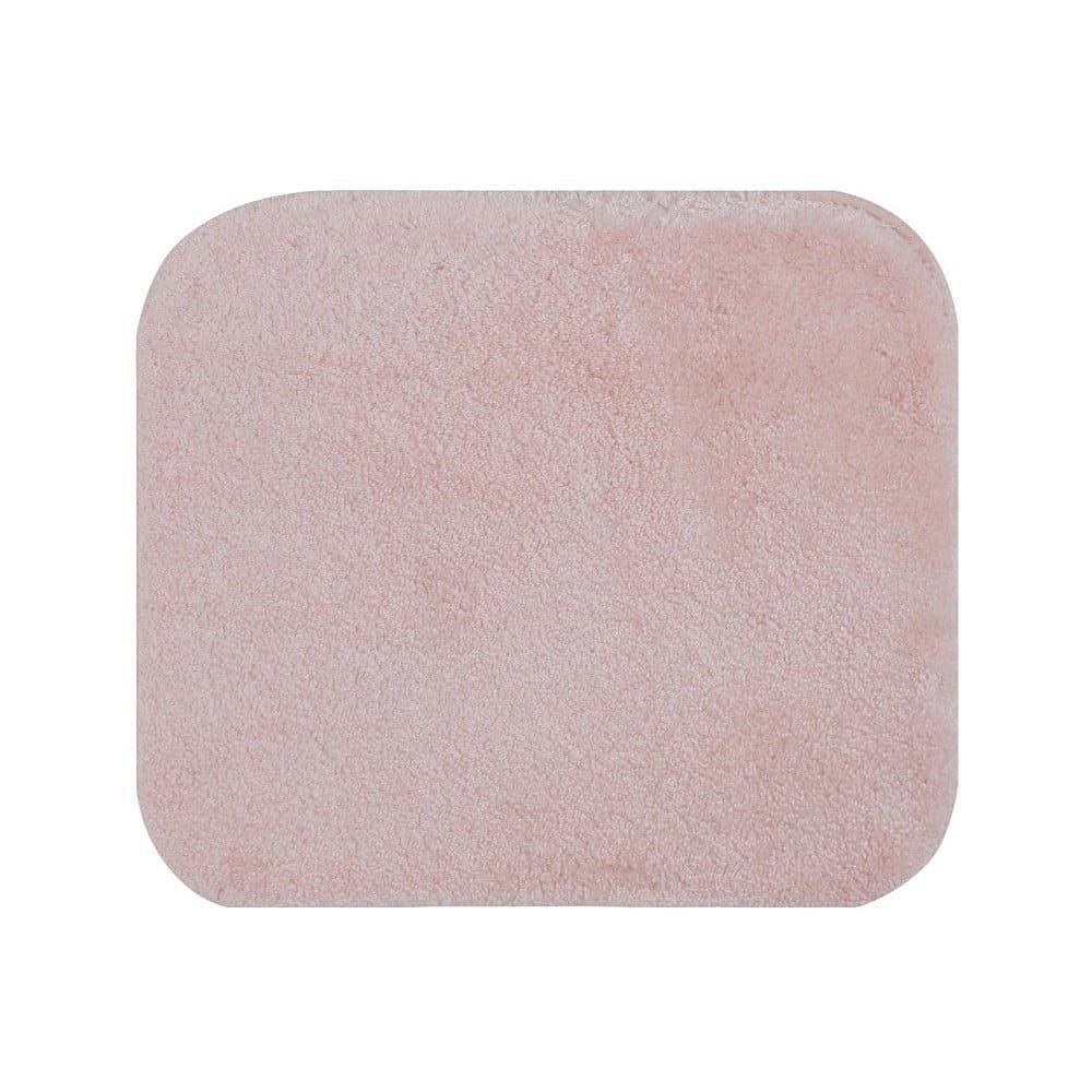 Růžová koupelnová předložka Confetti Miami, 50 x 57 cm