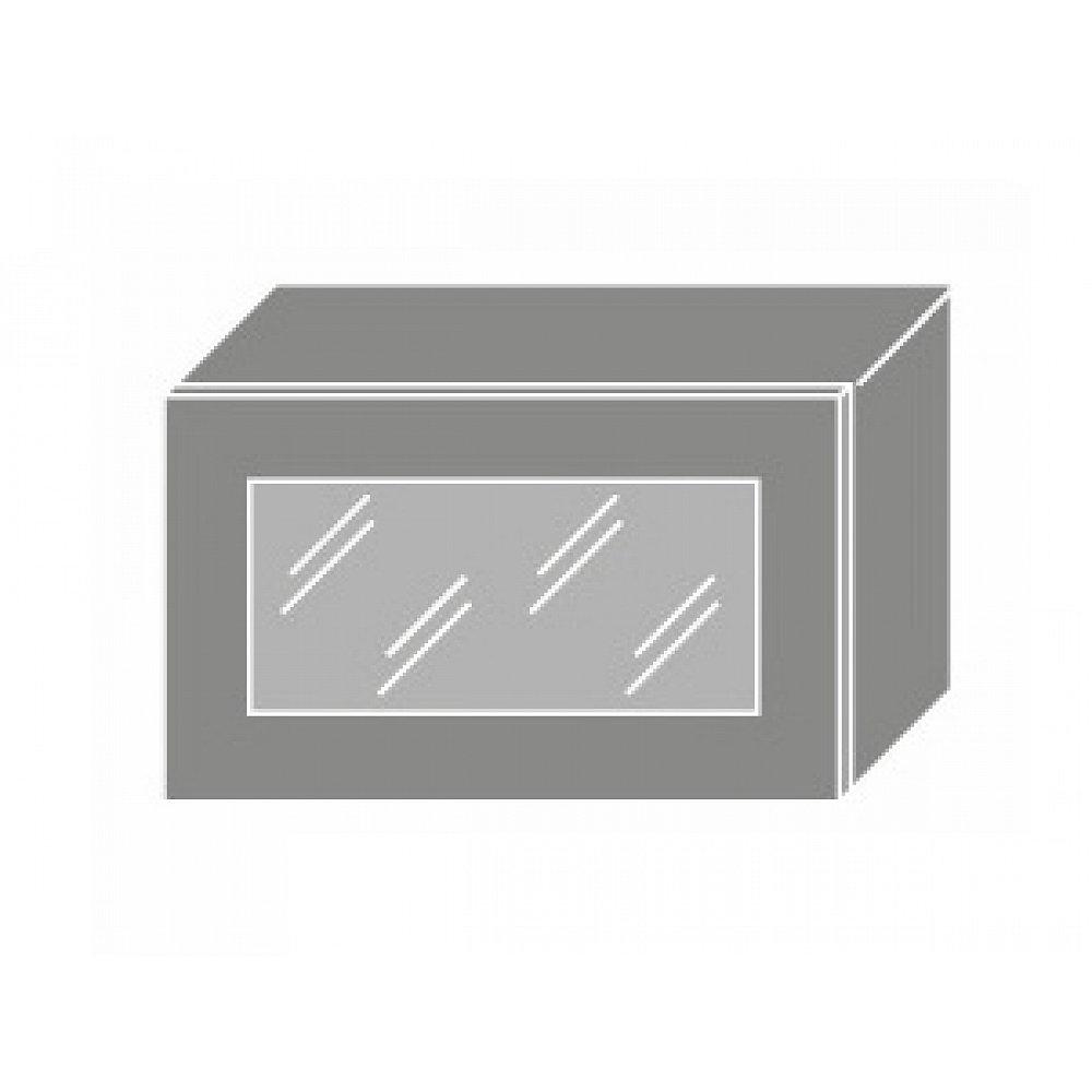 QUANTUM, skříňka horní W4bs 60 WKF, beige mat/grey